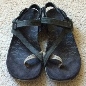 Merrell Siena Black Sandals. Size 7.